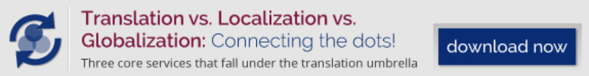 Translation vs. Localization vs. Globalization - Connecting the dots! Download now