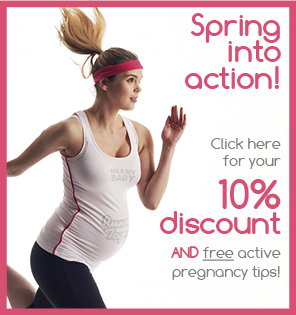 Maternity activewear welcome offer