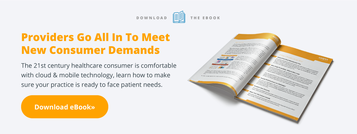 Download the eBook: Providers Go All In to Meet New Consumer Demands