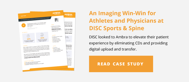 An Imaging Win-Win for Athletes and Physicians at DISC Sports & Spine