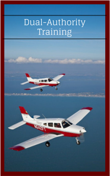 Dual-Authority Flight Training Information