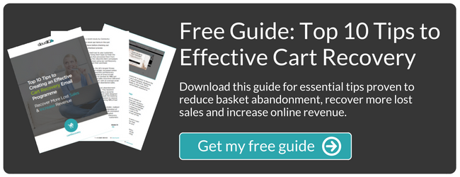 Top 10 Tips to Creating an Effective Cart Recovery Email Programme Guide