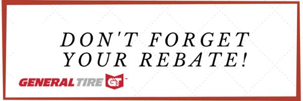 General Tire Rebate Form