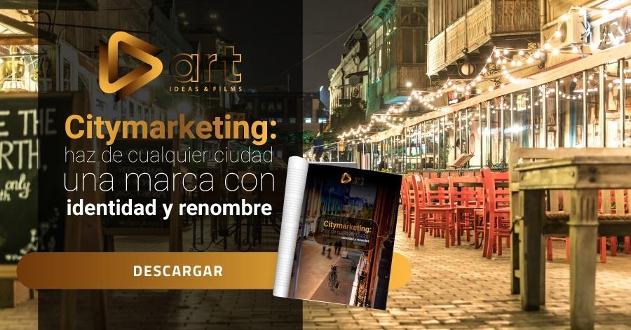 Citymarketing: haz de cualquier ciudad una marca con identidad y renombre