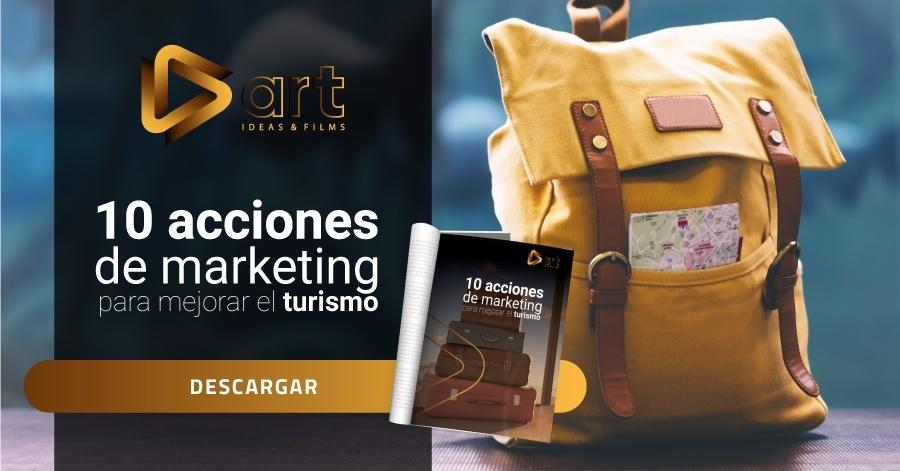 10 acciones de marketing para mejorar el turismo