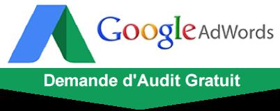 Audit gratuit de campagnes google adwords