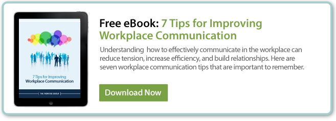 Download our FREE eBook: 7 Tips for Improving Workplace Communication