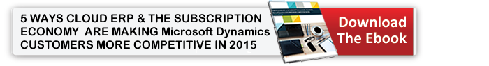Dynamics GP Subscription Economy