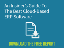Download: An Insider's Guide to The Best Cloud-Based ERP Software