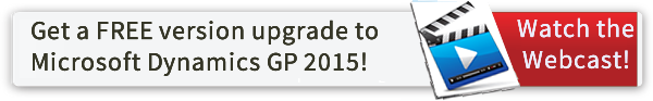How to get a free version upgrade to Microsoft Dynamics GP 2015!