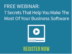 Free Webinar: 7 Secrets That Help You Make The Most Of Your Business Software