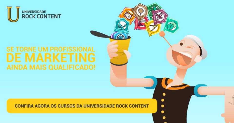 Universidade Rock Content - Confira os cursos de Marketing