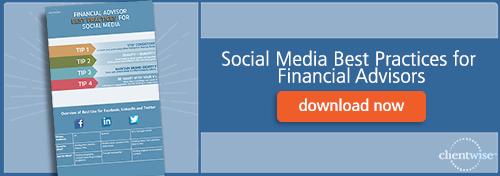 social media best practices for financial advisors