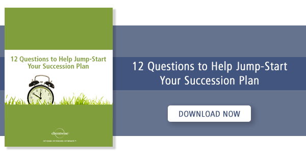 12 questions to help jump start your succession plan