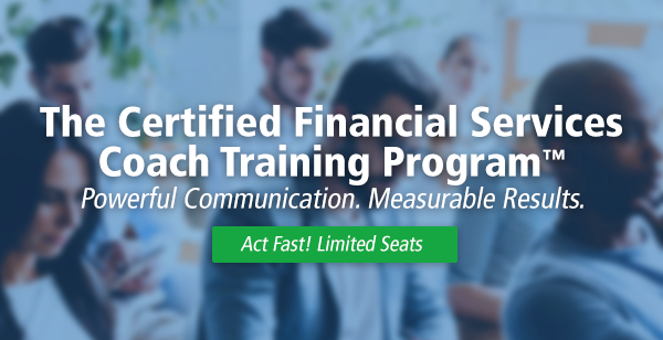 Certified Financial Services Coach Training Program