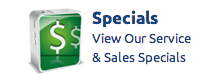 View our service & sales specials