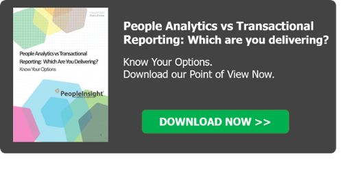 Know Your Options - Transactional Reports vs People Analytics
