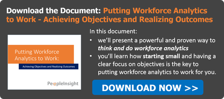 Document - Putting Workforce Analytics to Work - Objectives and Outcomes
