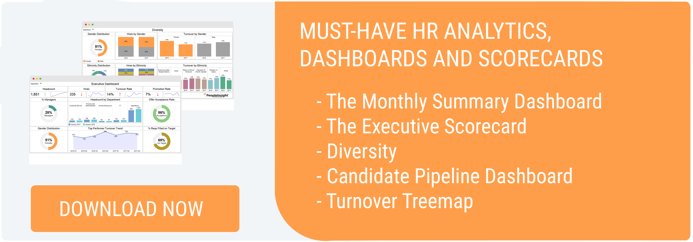 Must-have HR analytics, dashboards and scorecards