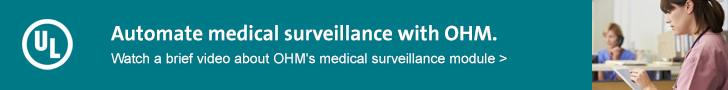 Automate medical surveillance with OHM. Watch a brief video >