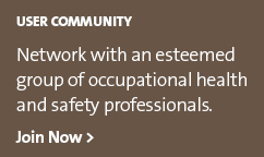 Network with an esteemed group of occupational health and safety professionals.
