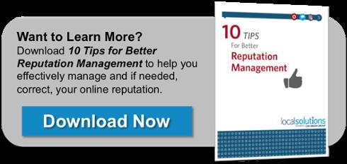 10 Tips for Better Online Reputation Management