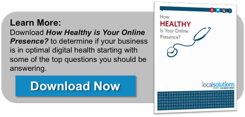 How Healthy is Your Online Presence