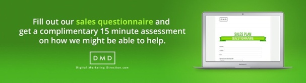 Sales Plan Questionnaire CTA