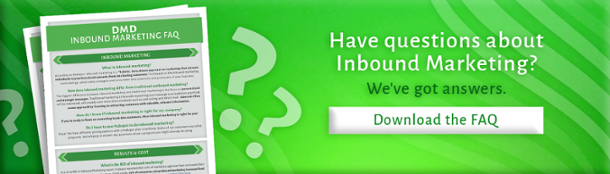 Inbound Marketing FAQs