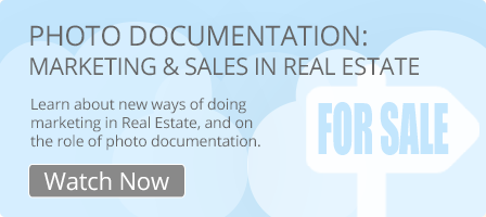 Photo Documentation: Marketing and Sales in real real estate