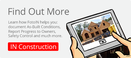 Find out how FotoIN helps you IN Construction