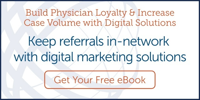 Keep referrals in-network with digital marketing solutions