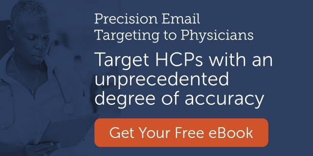 Target HCPs with an unprecedented degree of accuracy