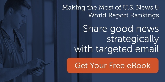 Share good news strategically through targeted email