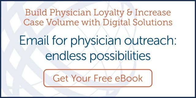 Email for physician outreach:endless possibilities