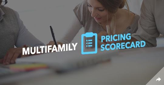 Download the Multifamily Pricing Scorecard