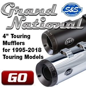 Grand National Touring Mufflers