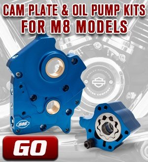 Cam Plate & Oil Pump Kit for M8 Models