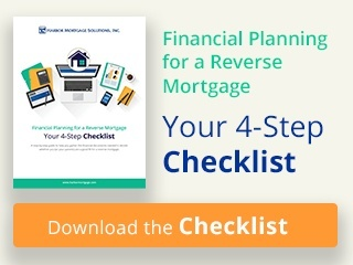 financial planning for a reverse mortgage