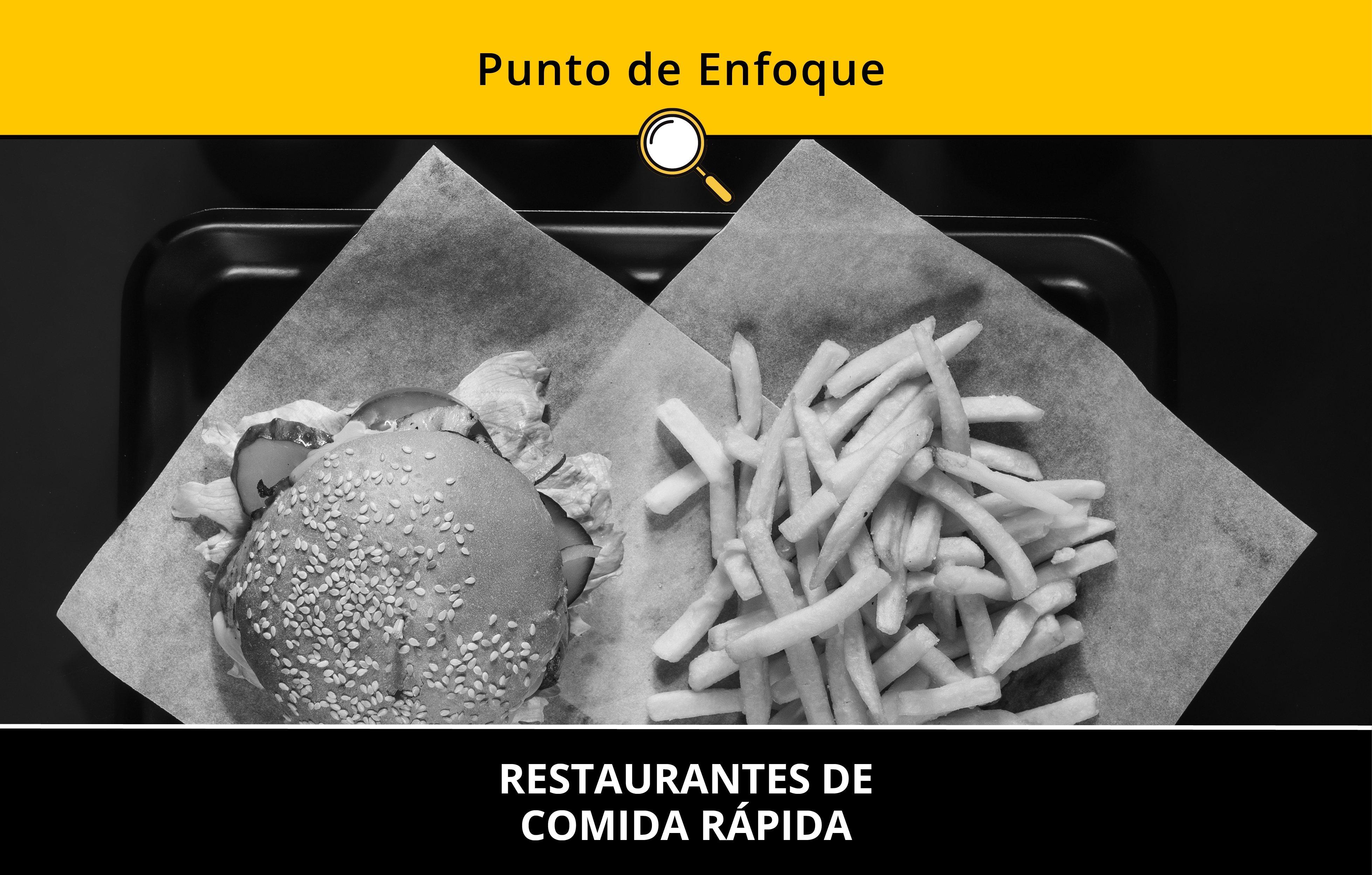 Restaurantes de comida rápida