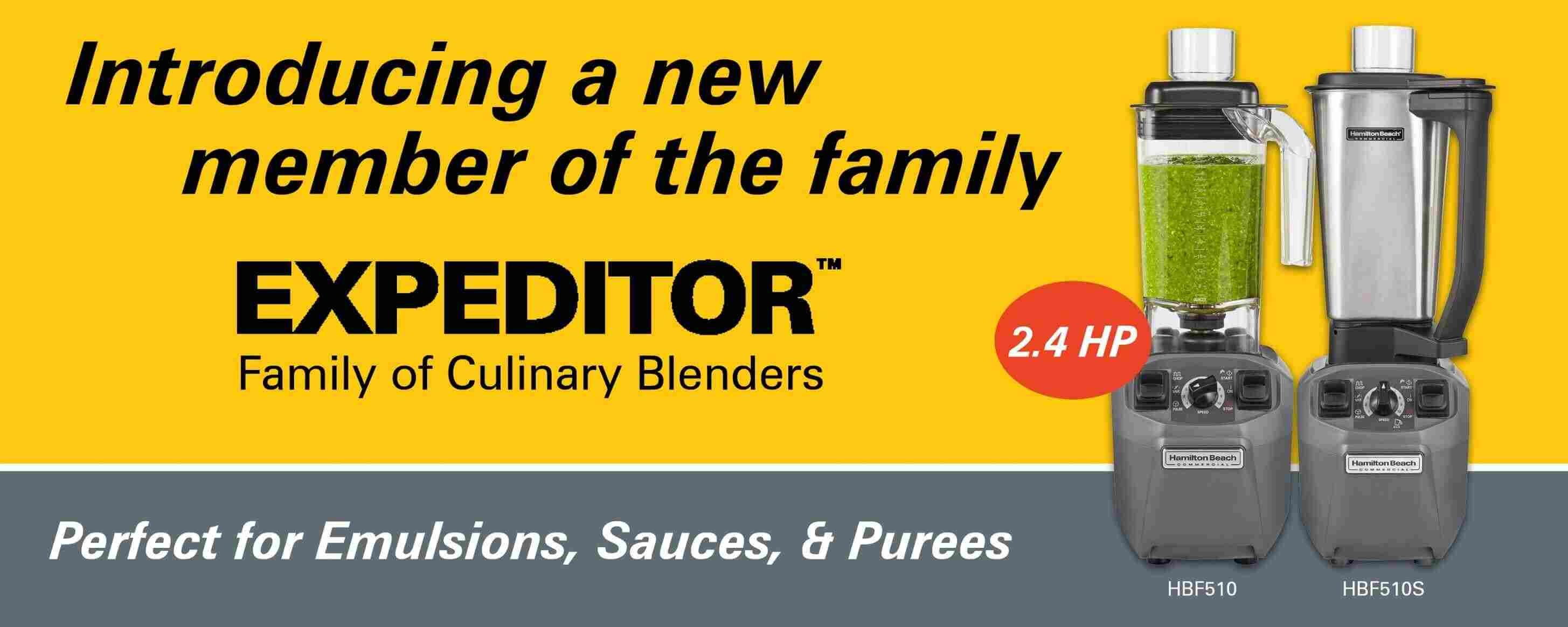 EXPEDITOR510/S Culinary Blender