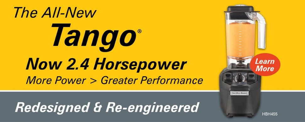 All-New Tango 2.4 Hp Beverage Blender