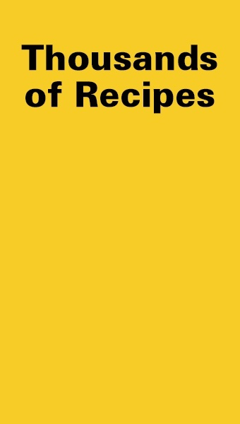 Thousands of Recipes