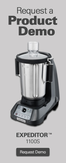 Product Demo Culinary Blender