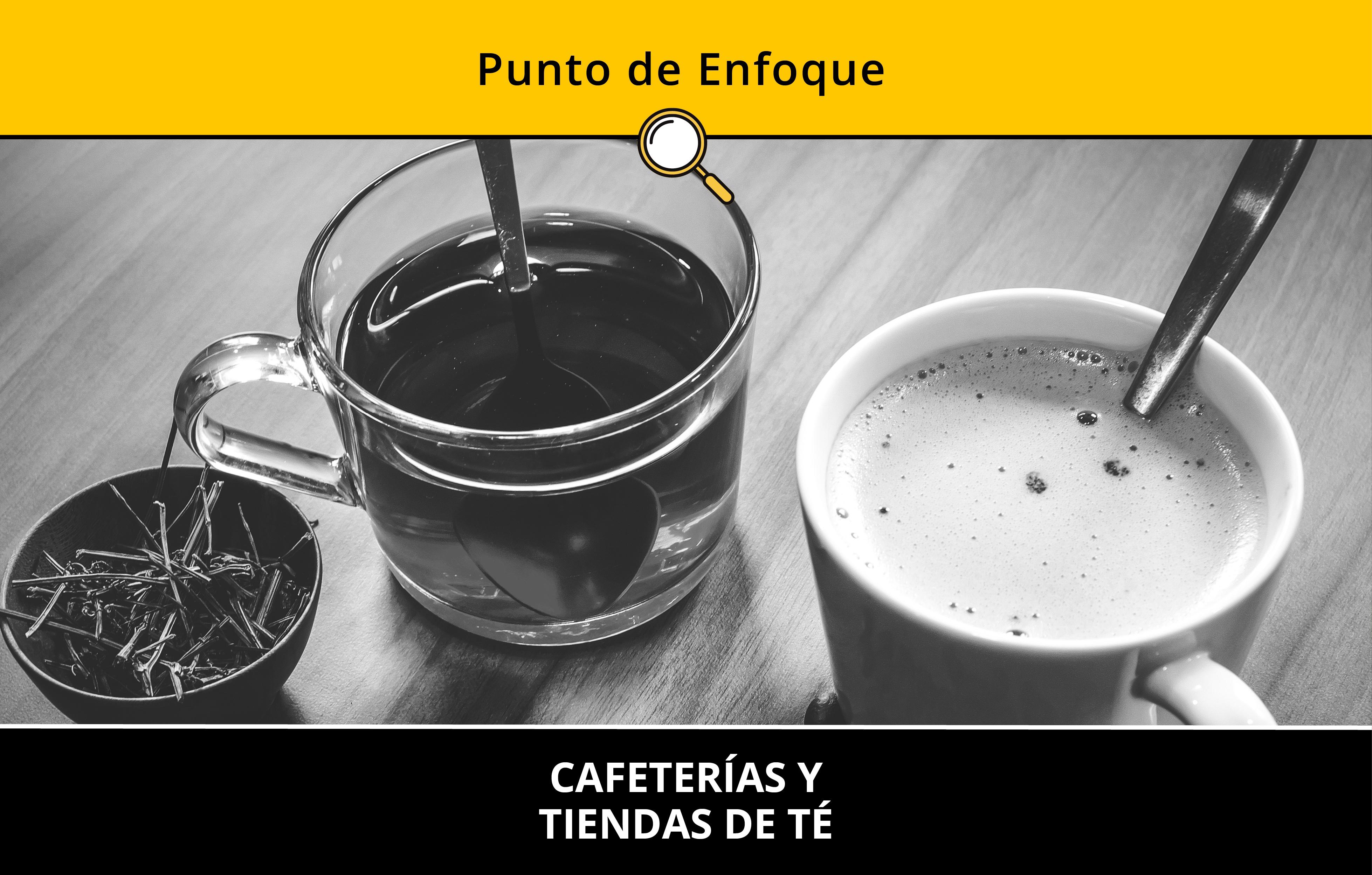 Cafeterías y Tiendas de Té