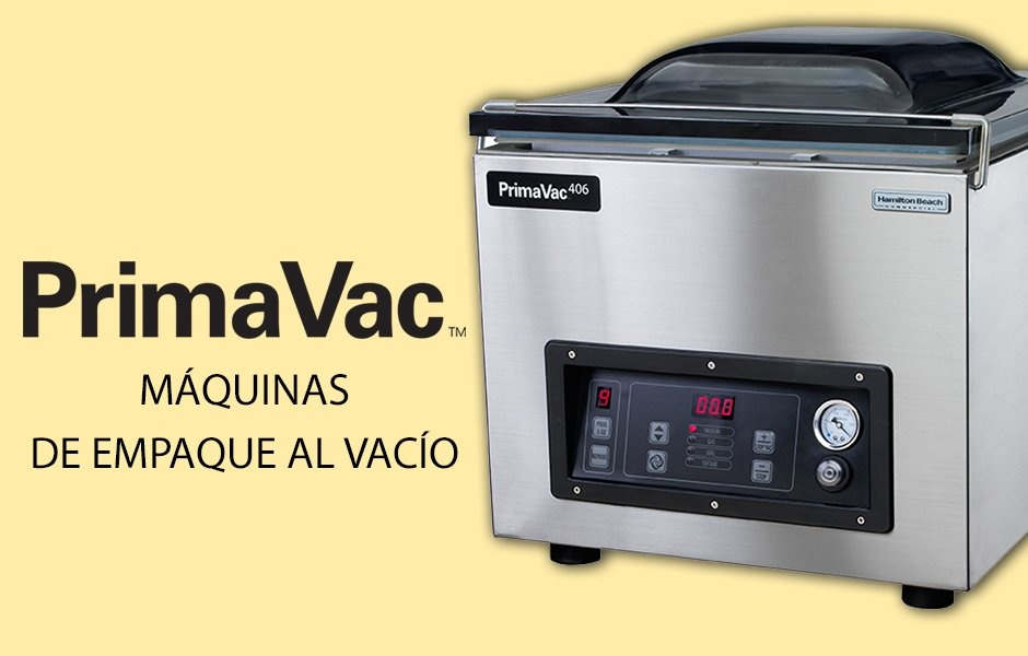 Máquinas de empaque al vacío PrimaVac