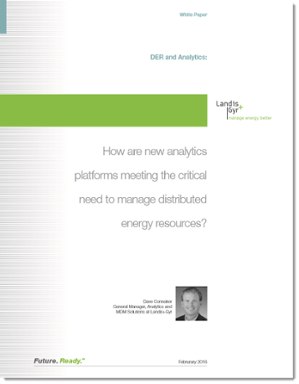White Paper: DER and Analytics: How new analytics platforms meet a critical need