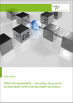 IDIS interoperability − securing long-term investments with interoperable solutions