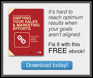 Unify your sales and marketing teams!
