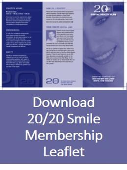 20/20 Dental Practice Smile Membership